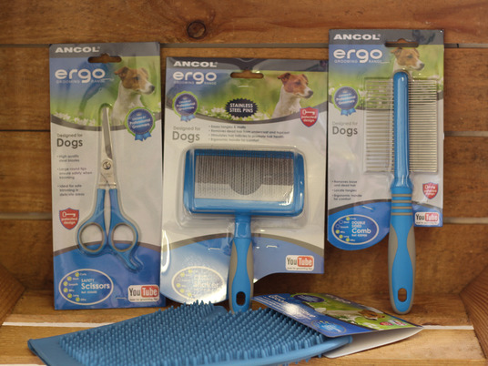 Ancol grooming brushes